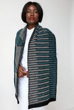 Dual brick triangle pattern scarf