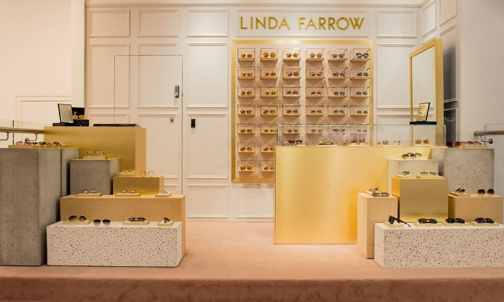 Linda Farrow Pop Up at Selfridges London