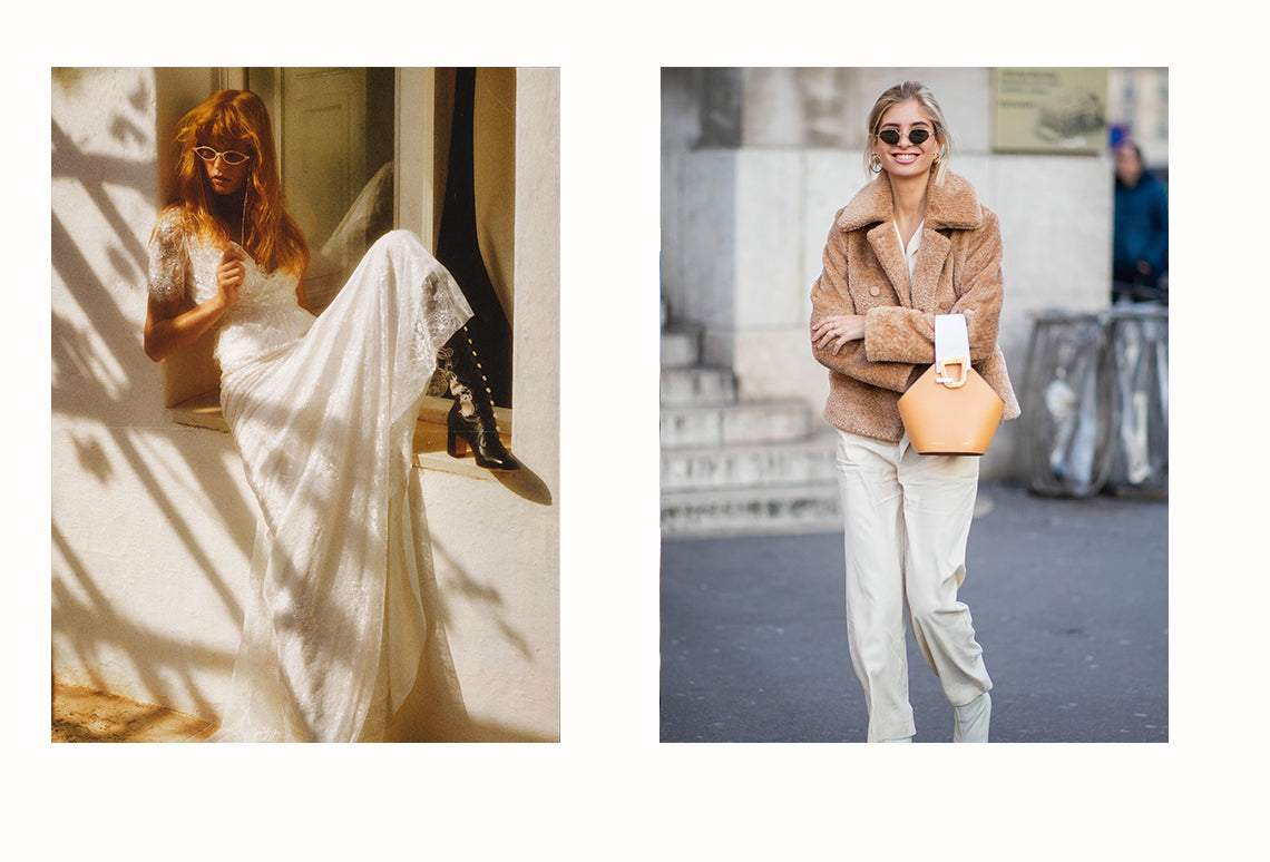 Elle Italy Weddings featuring Alessandra Rich and Xenia Overdose wearing Dries Van Noten