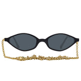 Alessandra Rich 3 C1 Angular Sunglasses