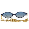 Alessandra Rich 3 C3 Angular Sunglasses