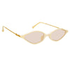 Alessandra Rich 3 C4 Angular Sunglasses