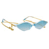 Alessandra Rich 3 C5 Angular Sunglasses