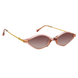 Alessandra Rich 3 C6 Angular Sunglasses