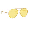 Dries Van Noten 187 C2 Aviator Sunglasses