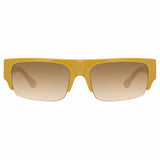Dries Van Noten 190 C3 Rectangular Sunglasses