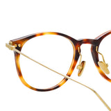 Linda Farrow Linear 01 C7 D-Frame Optical Frame