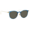 Linda Farrow Linear 03 C14 D-Frame Sunglasses