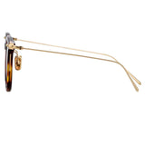 Linda Farrow Linear 04A C9 Square Sunglasses