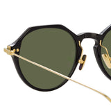 Linda Farrow Linear Wren A C7 Angular Sunglasses