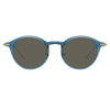 Linda Farrow Linear Arris C1 Oval Sunglasses