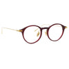 Linda Farrow Linear 06 C4 Oval Optical Frame