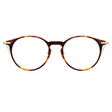 Linda Farrow Linear 08A C3 Oval Optical Frame