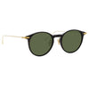 Linda Farrow Linear 08 C6 Oval Sunglasses