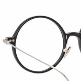 Linda Farrow Linear Savoye A C2 Round Optical Frame