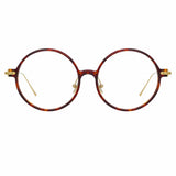 Linda Farrow Linear Savoye A C3 Round Optical Frame
