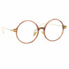 Linda Farrow Linear Savoye C8 Round Optical Frame