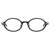 Linda Farrow Linear Eaves A C1 Oval Optical Frame