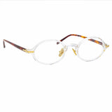 Linda Farrow Linear 11A C3 Oval Optical Frame