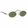Linda Farrow Linear Eaves A C8 Oval Sunglasses