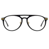 Linda Farrow Linear Ando A C1 Aviator Optical Frame