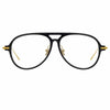 Linda Farrow Linear 24 C1 Aviator Optical Frame