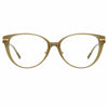 Linda Farrow Linear Arch A C5 Cat Eye Optical Frame