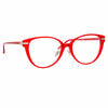 Linda Farrow Linear Arch C6 Cat Eye Optical Frame