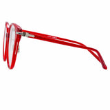 Linda Farrow Linear 26 C6 Cat Eye Optical Frame