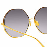 Linda Farrow 1009 C3 Oversized Sunglasses