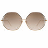 Linda Farrow 1009 C4 Oversized Sunglasses