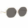 Linda Farrow 1009 C5 Oversized Sunglasses