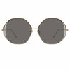 Linda Farrow Aerial C5 Oversized Sunglasses