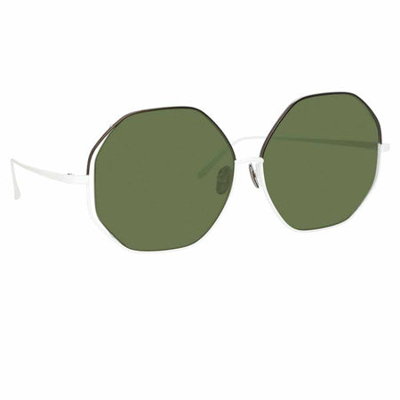 Linda Farrow Aerial C6 Oversized Sunglasses