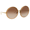 Linda Farrow Kew C34 Oversized Sunglasses
