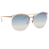 Linda Farrow 747 C16 Oversized Sunglasses