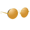 Linda Farrow Lockhart C2 Round Sunglasses