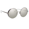 Linda Farrow Lockhart C3 Round Sunglasses