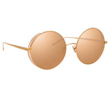 Linda Farrow Lockhart C5 Round Sunglasses