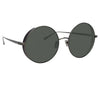 Linda Farrow Lockhart C7 Round Sunglasses