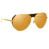 Linda Farrow Matheson C2 Aviator Sunglasses
