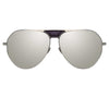 Linda Farrow Matheson C3 Aviator Sunglasses