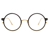 Linda Farrow 801 C9 Round Optical Frame