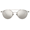 Linda Farrow Ali C2 Oval Sunglasses