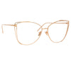 Linda Farrow Amina C10 Cat Eye Optical Frame
