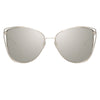 Linda Farrow Amina C2 Cat Eye Sunglasses
