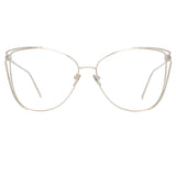 Linda Farrow Amina C9 Cat Eye Optical Frame
