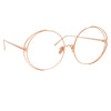 Linda Farrow 816 C11 Round Optical Frame