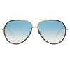 Linda Farrow Salem C11 Aviator Sunglasses