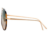 Linda Farrow Salem C12 Aviator Sunglasses